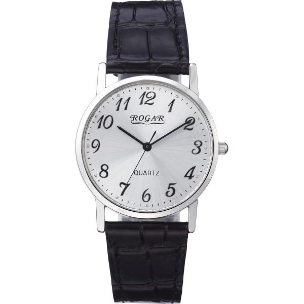 その他 ロガール メンズ腕時計 シルバー (包装・のし可) 4582161699645
