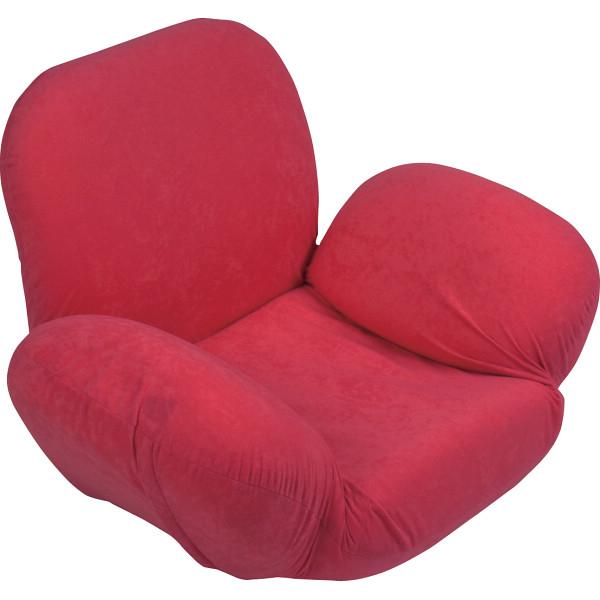 その他 美姿勢サポート座椅子 レッド 2438190001473【納期目安:1週間】