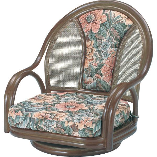 その他 籐回転座椅子ロータイプ 4945052115530【納期目安:1週間】