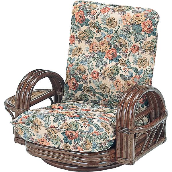 その他 籐リクライニング回転座椅子 4945052115998【納期目安:1週間】