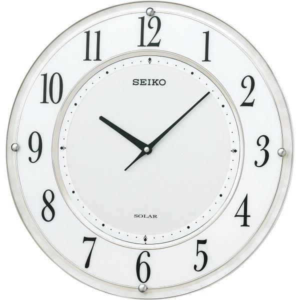 その他 セイコー ソーラープラス薄型電波掛時計(包装・のし可) 4517228035593【納期目安:1週間】