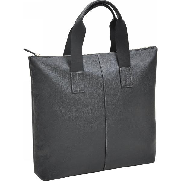 その他 良品工房 日本製牛革トートバッグ 黒 (包装・のし可) 4560286932618【納期目安:1週間】