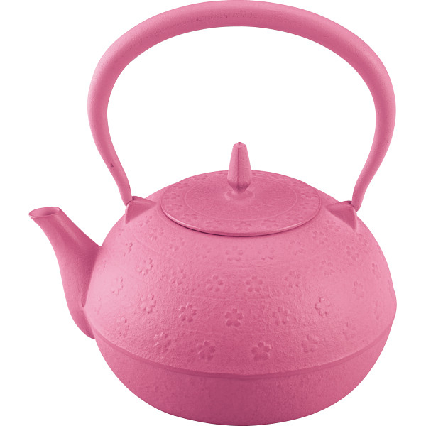 その他 南部鉄器 鉄瓶sakura(1.2┣l┫) ピンク (包装・のし可) 4906018126083【納期目安:1週間】