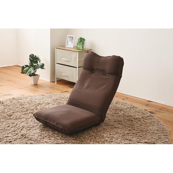 その他 ズレ落ち防止加工折りたたみ座椅子2個組 ブラウン (包装・のし可) 4511412988344