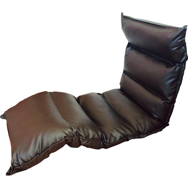 その他 高反発フリーリクライニング座椅子 ブラウン (包装・のし可) 4582296755919【納期目安:1週間】