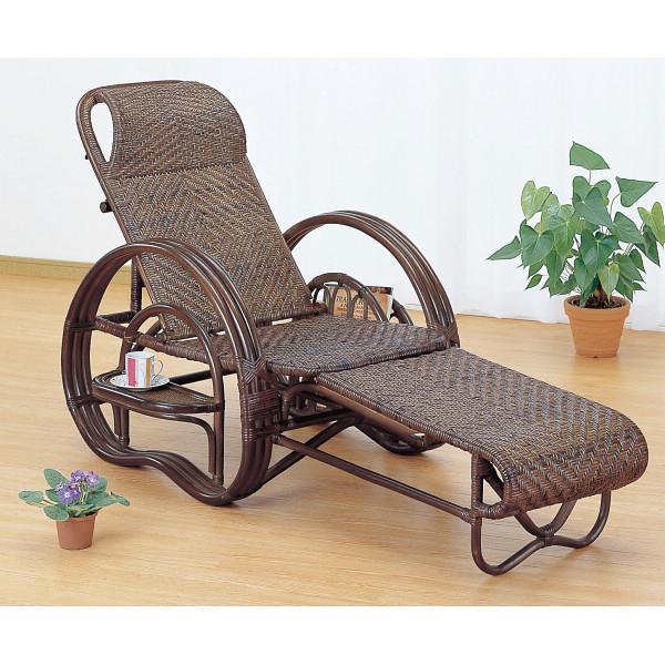 その他 籐三ツ折寝椅子 4945052116452【納期目安:1週間】