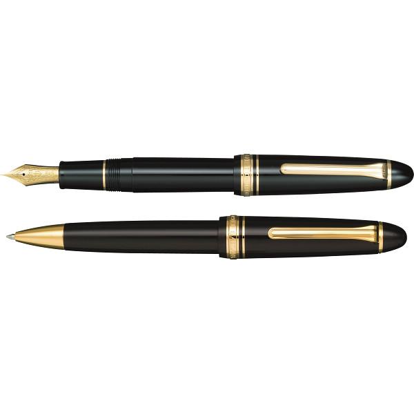 その他 セーラー プロフィット21万年筆&21ボールペン ブラック (包装・のし可) 4901680191728【納期目安:1週間】