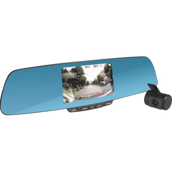 その他 ミラー型リアカメラ搭載ドライブレコーダー ブラック (包装・のし可) 4562299335073