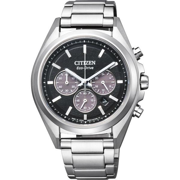 その他 シチズン アテッサ ソーラー メンズ腕時計 ブラック (包装・のし可) 4974375476349【納期目安:1週間】