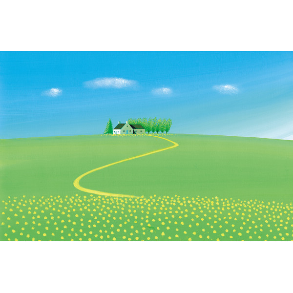 その他 葉祥明「Highlandscape」(包装・のし可) 2400046001098【納期目安:1週間】
