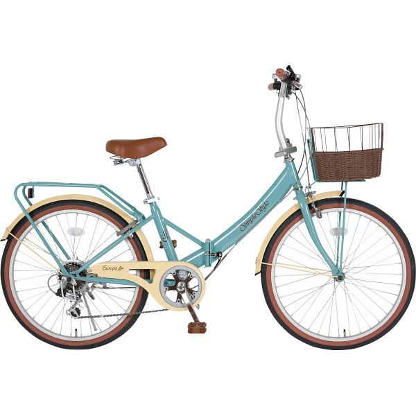 その他 シンプルスタイル 24型 低床フレーム折りたたみ自転車 4930479050069【納期目安:1週間】
