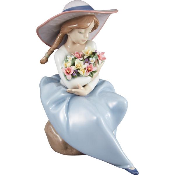 その他 リヤドロ 花の香りにつつまれて(包装・のし可) 0737859058622【納期目安:1週間】