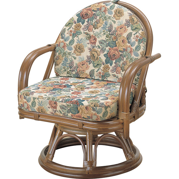 その他 籐回転座椅子 4945052114076【納期目安:1週間】