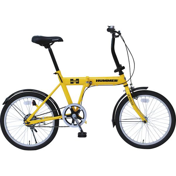 その他 ハマー20型折りたたみ自転車 イエロー 4562369182088【納期目安:1週間】