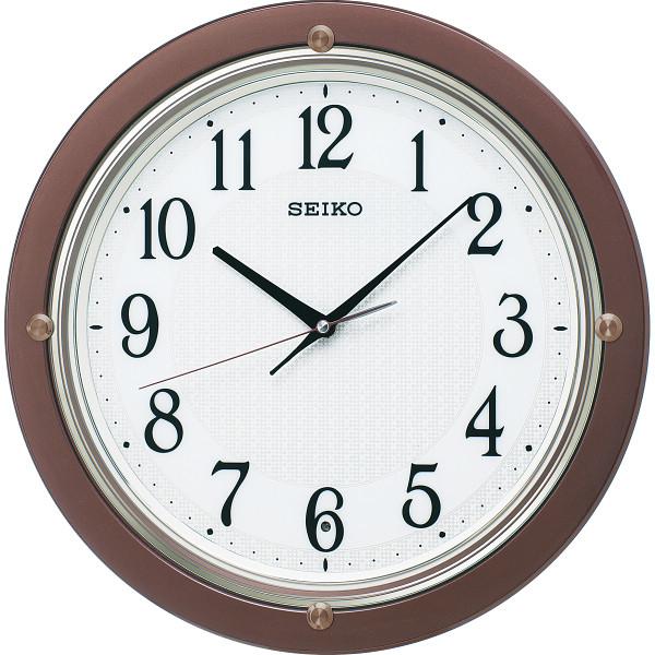その他 セイコー 電波掛時計 茶メタリック (包装・のし可) 4517228037719【納期目安:1週間】