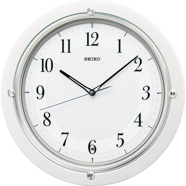 その他 セイコー 電波掛時計 白パール (包装・のし可) 4517228037726