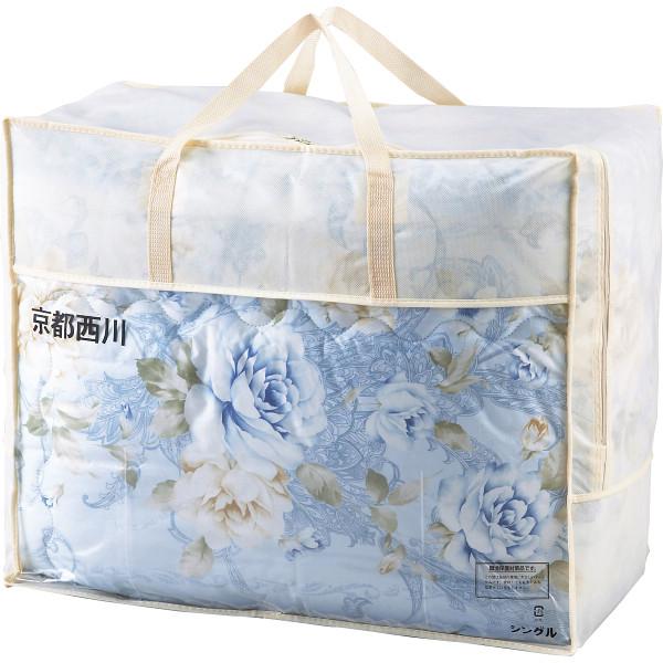 その他 京都西川 ウール掛けふとん ブルー (包装・のし可) 4549961188458