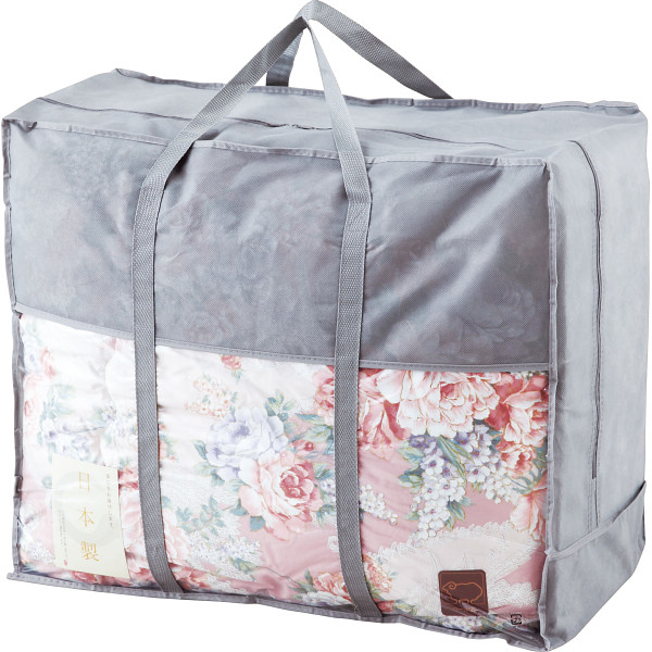その他 日本製 ウール50%混 合掛けふとん ピンク (包装・のし可) 4530807044137