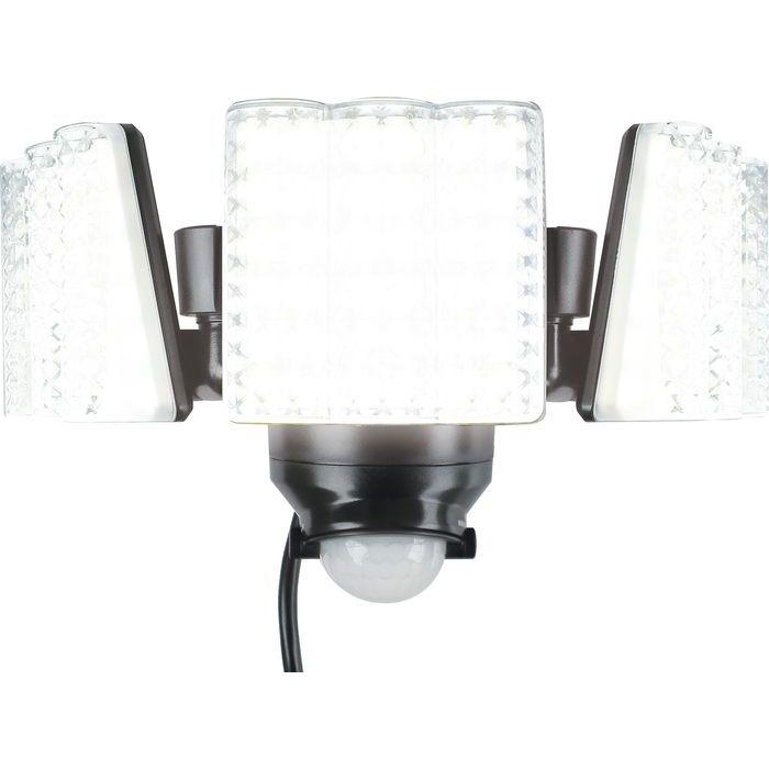大進 LED センサーライト 3灯式 DLA-7T300 4939736902165