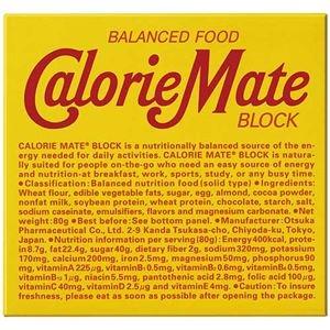 その他 (まとめ)大塚製薬 カロリーメイトブロック チョコレート味【×100セット】 ds-2177750
