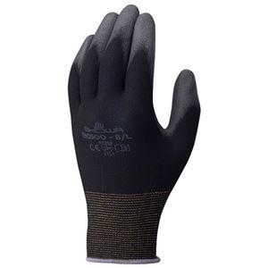 その他 (まとめ)ショーワグローブ パームフィット手袋 B0500 ブラック L【×50セット】 ds-2178023