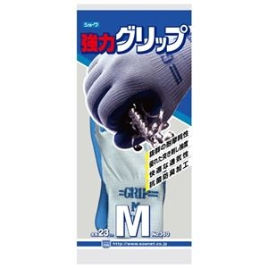 その他 (まとめ)ショーワグローブ 強力グリップ 360 M ブルー【×50セット】 ds-2178032