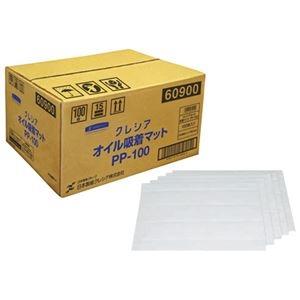その他 (まとめ)日本製紙クレシア クレシア オイル吸着マット PP-100 100枚【×5セット】 ds-2178206