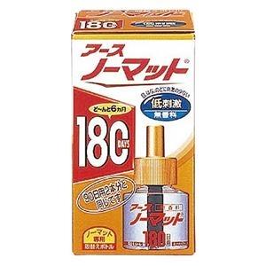その他 (まとめ)アース製薬 アースノーマット取替ボトル180日用 無香料【×10セット】 ds-2178307