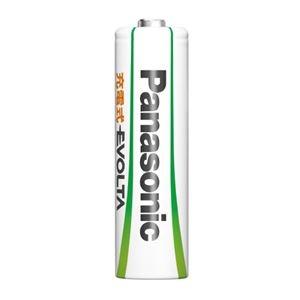 その他 (まとめ)Panasonic エボルタ充電式電池 単4 4本 BK-4MLE/4BC【×10セット】 ds-2178660