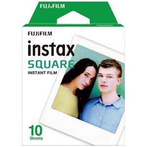 その他 (まとめ)富士フイルム チェキ instax SQUARE用フィルム 10枚入×2【×5セット】 ds-2178674