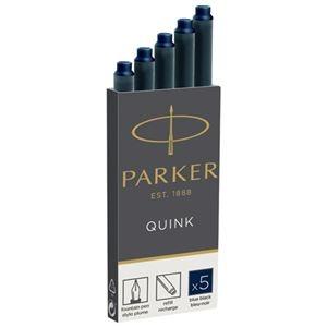 その他 (まとめ)パーカー PARKER CTインク ブルーブラック 5本 19 50385【×50セット】 ds-2179064