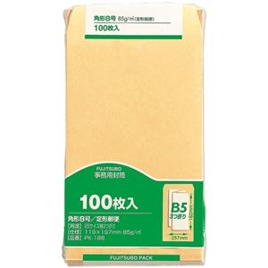 その他 (まとめ)マルアイ 事務用封筒 PK-188 角8 100枚×10【×5セット】 ds-2179552
