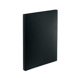 その他 (まとめ)LIHITLAB 名刺帳 A4 500枚用 黒 A-5043-24【×30セット】 ds-2179765