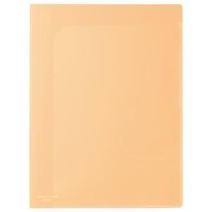 その他 (まとめ)ビュートン スマートホルダー NSH-A4-6COR オレンジ【×100セット】 ds-2179790