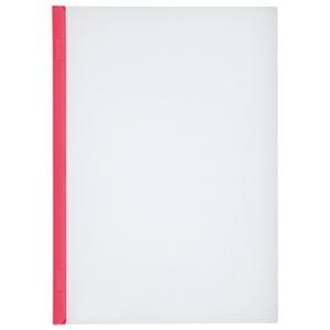 その他 (まとめ)LIHITLAB スライドバーファイル G1720-3 赤 10冊【×30セット】 ds-2179852