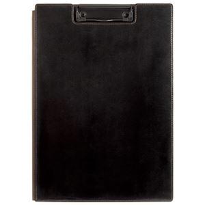 その他 (まとめ)キングジム レザフェス クリップボード 1932LF 黒【×30セット】 ds-2179923