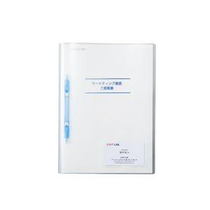 その他 (まとめ)LIHITLAB プラファイル5冊ポケット付 F-3019-5P-8 青【×50セット】 ds-2179942