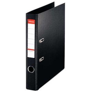 その他 (まとめ)ESSELTE レバーアーチファイル 48077 A4S 黒 10冊【×5セット】 ds-2180079