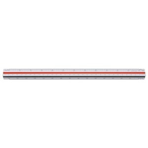 その他 (まとめ)内田洋行 三角スケールプラスチック製 30cm 014-0142【×30セット】 ds-2180287