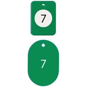 その他 (まとめ)オープン工業 クロークチケット 1~20 緑BF-150-GN【×10セット】 ds-2180684