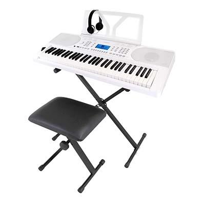 ワントーン(Onetone) Onetone Keyboard OTK-61set (ホワイト) OTK-61S-WH
