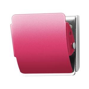 その他 (まとめ)プラス マグネットクリップCP-040MCR M ピンク10個【×5セット】 ds-2180993