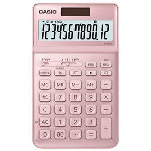 その他 (まとめ)カシオ計算機 デザイン電卓 ピンク JF-S200-PK-N【×5セット】 ds-2181239