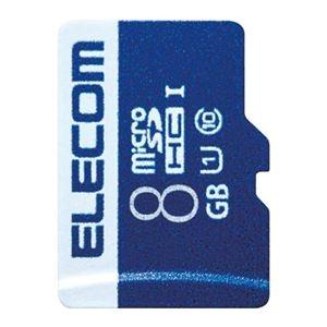 その他 (まとめ)エレコム microSDHCカード 8GB MF-MS008GU11R【×30セット】 ds-2181377