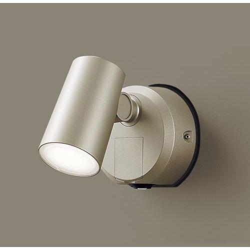 パナソニック スポットライトセンサ付プラチナ温白色 LGWC40386LE1