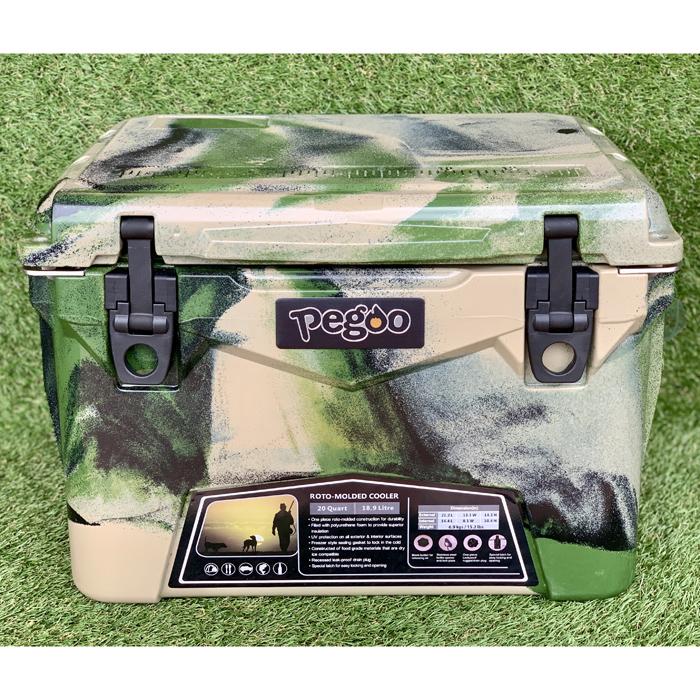 その他 HardCoolerBox(ハードクーラーボックス) 20QT (約18.9 ) (Army Camo) CL-02002【納期目安:08/上旬入荷予定】