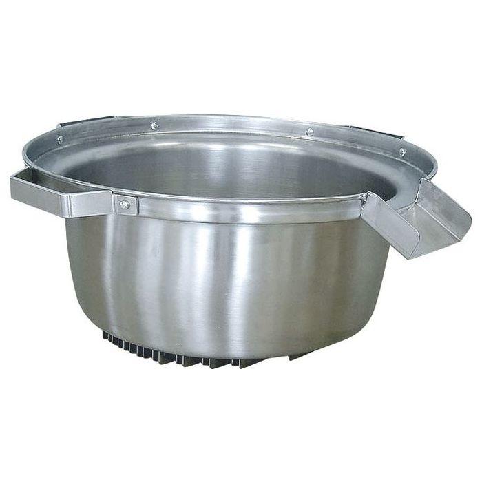 その他 エコライン ステンレス麺ゆで鍋 外径510xH230mm 22L KND-017208
