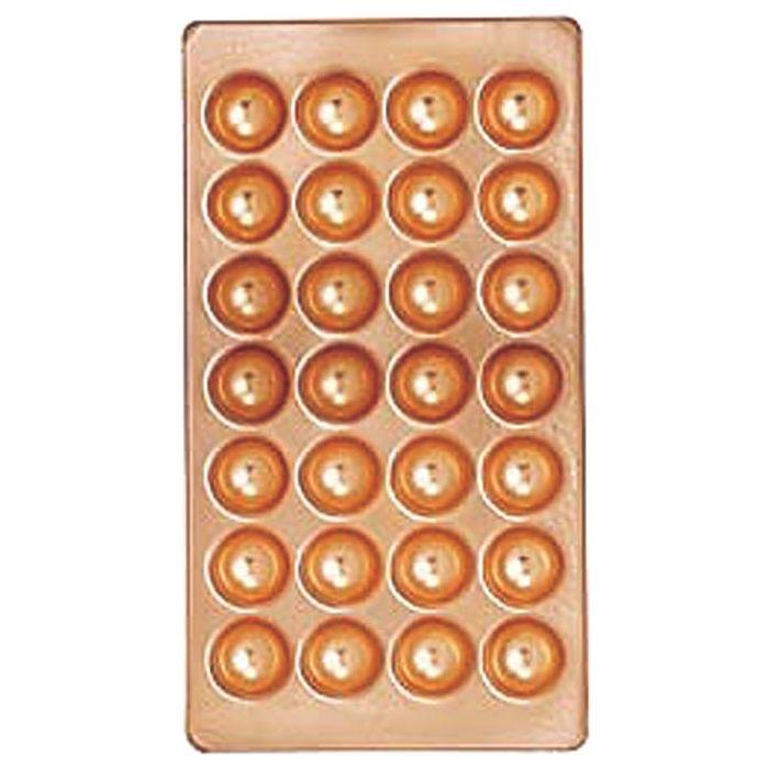 カンダ 銅製たこ焼天板 28穴 KND-067046