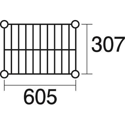 その他 ステンレスエレクター 棚 SSS610 KND-137108