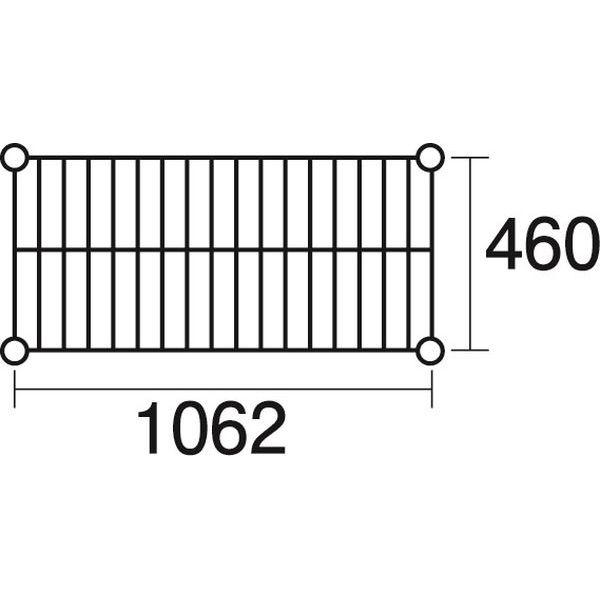 その他 ステンレスエレクター 棚 SMS1070 KND-137041